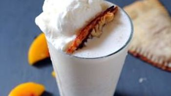 Peach Pie Milkshake
