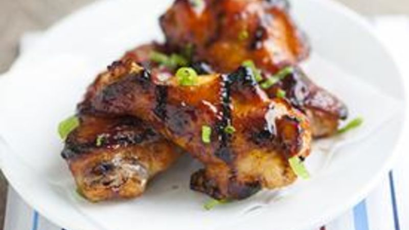 Grilled Sweet and Sour Chicken Wings