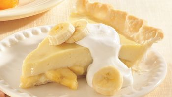 Banana Cream Pudding Pie