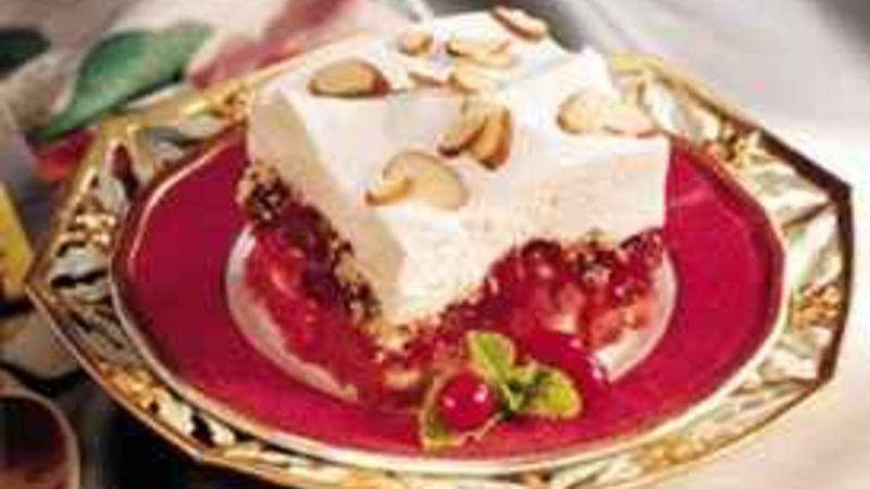Cranberry Trifle Squares