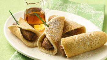 Pancake Roll-Ups
