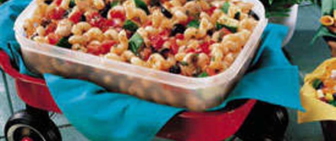 Suddenly pasta salad creamy parmesan recipe