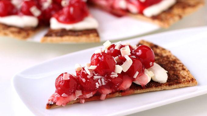 Cherry Pie Dessert Pizza