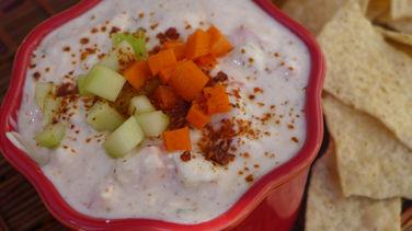 Salsa de Yogur y Pepino