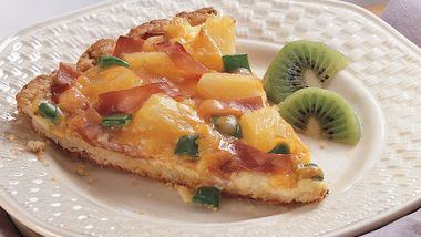 Hawaiian Brunch Pizza