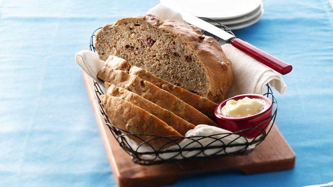 Dried Cherry and Walnut Bread