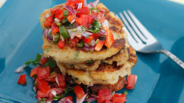 Potato and Tuna Pancakes