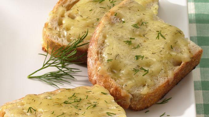 Dill-Havarti Sourdough Toast