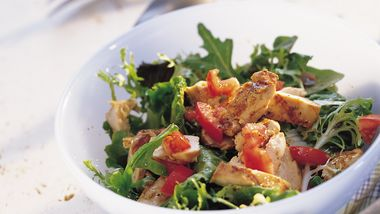 Grilled Italian Chicken Salad
