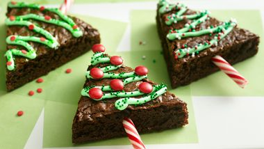 Holiday Tree Brownies