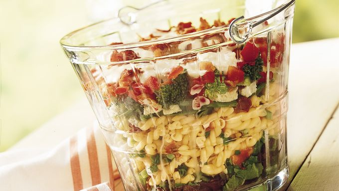 Layered Summertime Salad