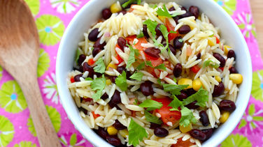 Orzo, Corn and Black Bean Salad