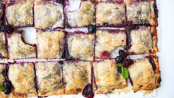 Mixed Berry Pie Bites