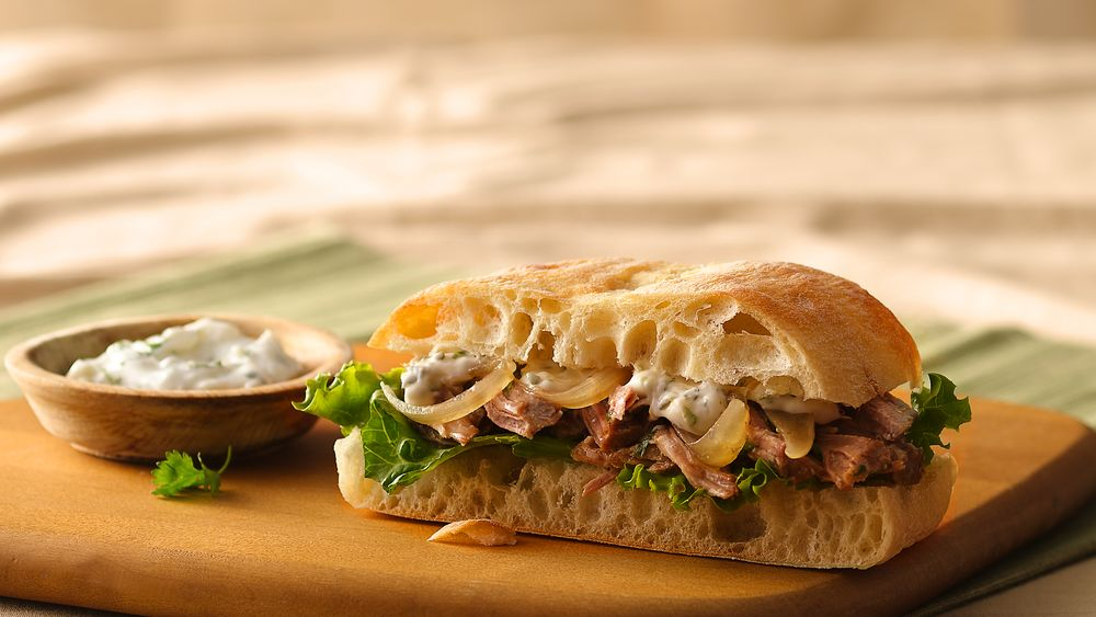 Cuban Sandwiches with Cilantro-Lime Mayonnaise