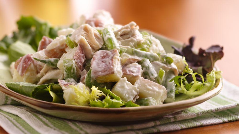 Summer Harvest Chicken-Potato Salad