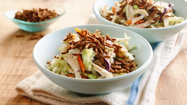 Fiber One® Cereal-Topped Asian Chicken Salad
