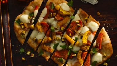 Roasted Squash and Sweet Potato Flatbread