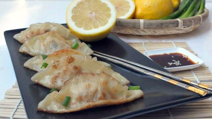 Lemon Chicken Potstickers