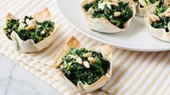 Mini Spinach and Feta Pies