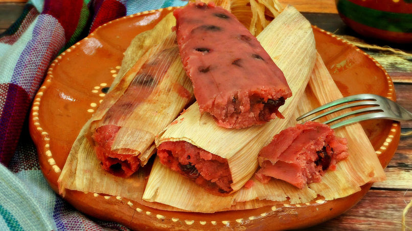 Strawberry Tamales Recipe Que Rica Vida