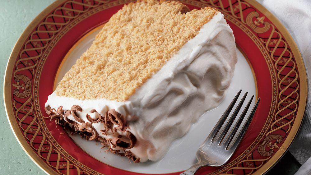 Espresso Angel Food Cake