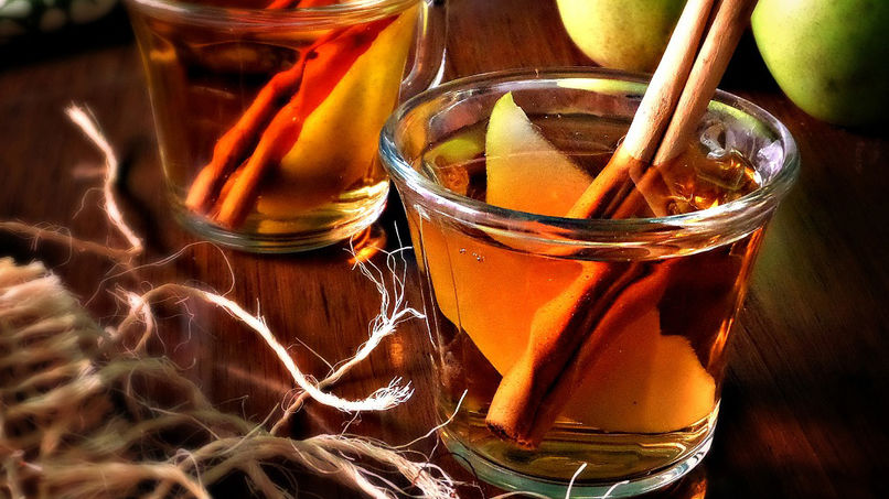 Pear Punch with Cinnamon