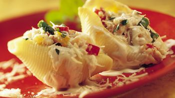 Seafood-Stuffed Pasta Shells