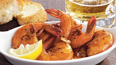 Slow-Cooker New Orleans Style Barbecue Shrimp