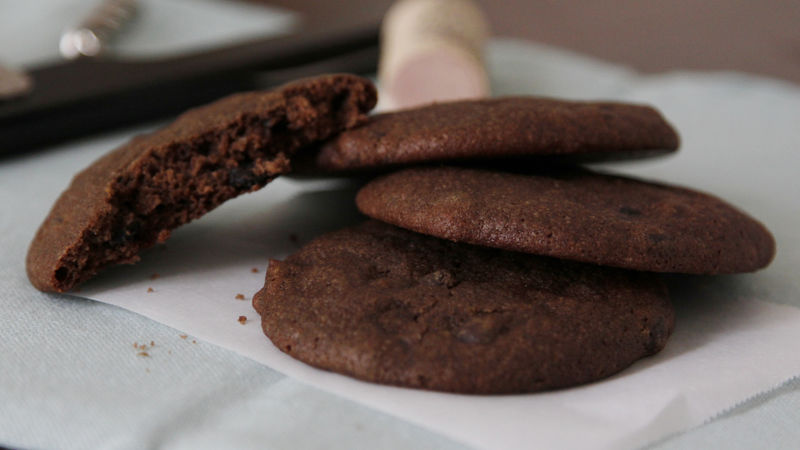 Merlot Chocolate Cookies