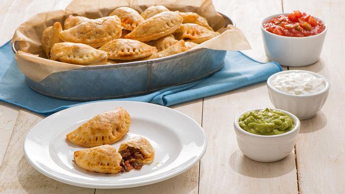 Mini Taco Empanadas