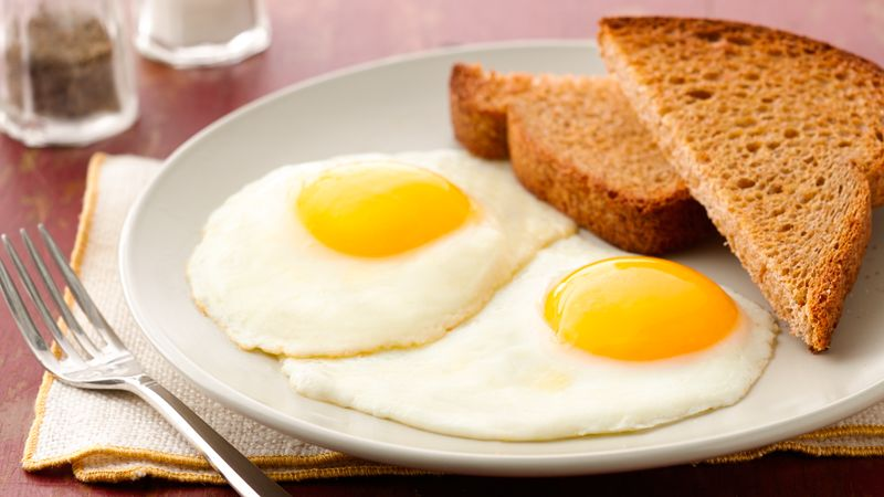 Fried Eggs, Sunny Side Up recipe from Betty Crocker