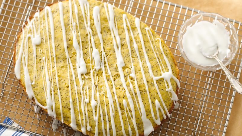 Slow-Cooker Lemon Cornmeal Poppy Seed Bread