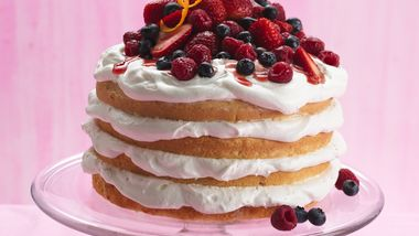 Berry Cream Torte