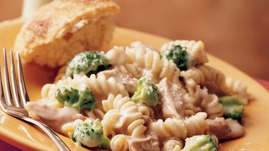 Slow-Cooker Turkey Rotini Casserole