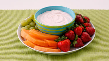 Strawberry Lemonade Fruit Dip