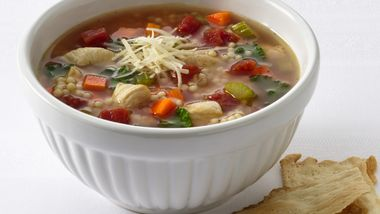 Chicken and Pastina Soup