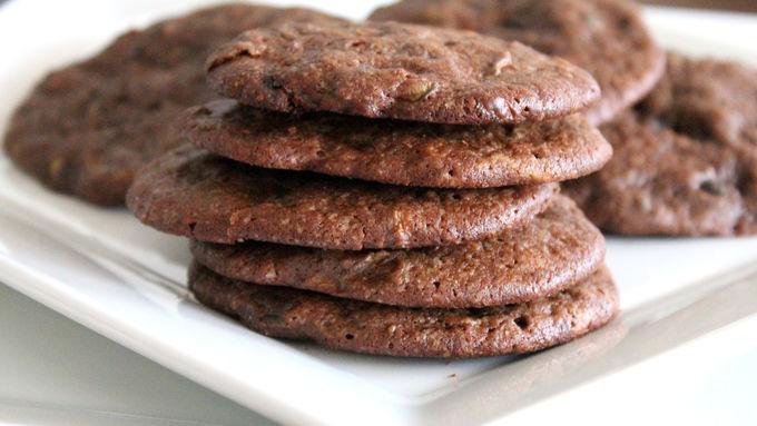 Double-Chocolate Zucchini Cookies