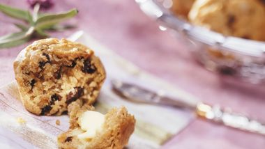 Banana-Raisin Muffins