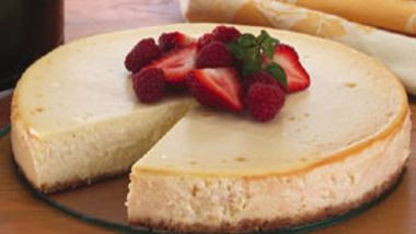Citrus Cheesecake with Berries