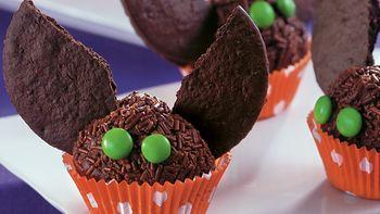 Batty Brownie Truffles