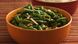 Judías verdes con ajo sin gluten