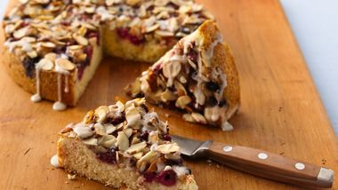 Mixed-Berry Coffee Cake