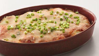 Chicken Enchilada Pie