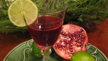 Pomegranate Martini