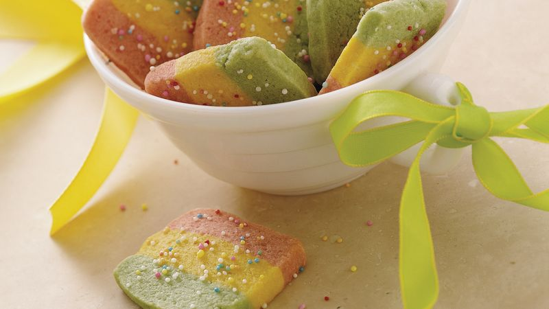 Springtime Slice-and-Bake Confetti Cookies
