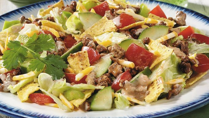 Meatless Taco Salad