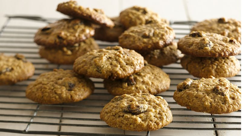 Gluten-Free Oatmeal Raisin Cookies