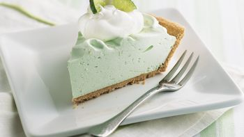 No-Bake Lime Chiffon Pie