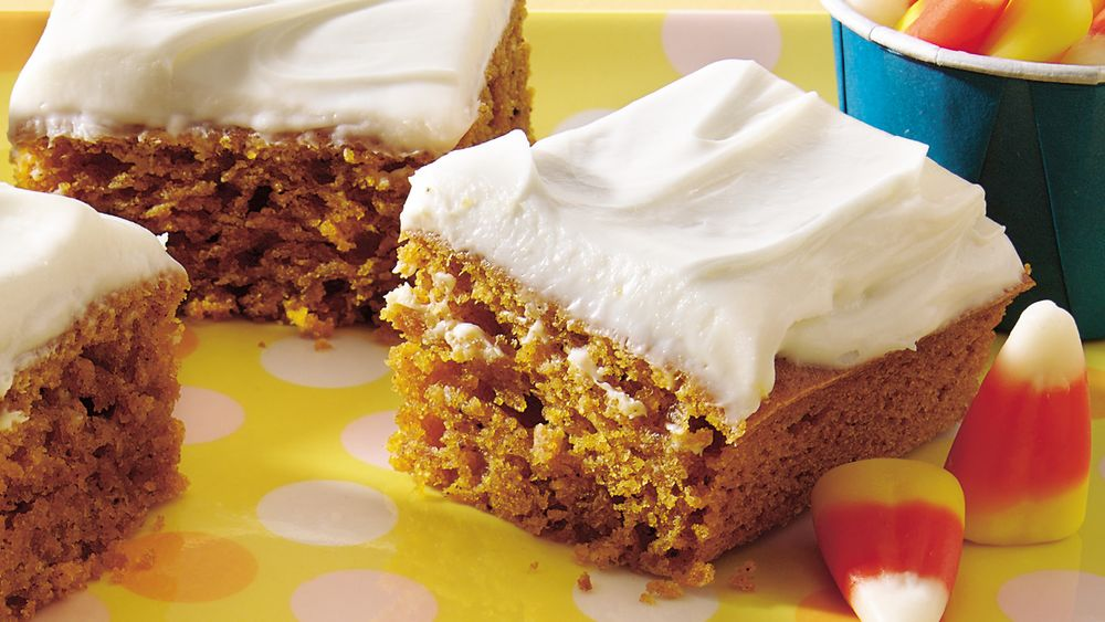 Spicy Pumpkin Bars