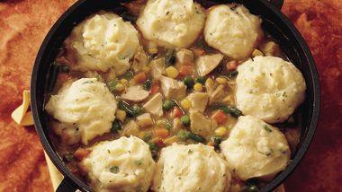 Home-Style Turkey and Potato Bake